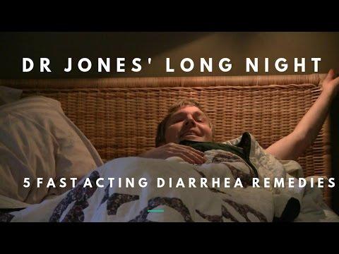 Dr Jones' Long Night: Fast Acting Diarrhea Remedies