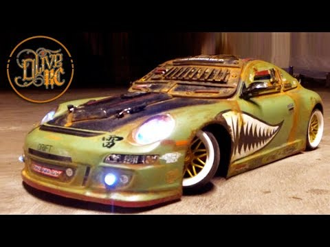 POST APOCALYPTIC RC PORSCHE 911 GT3 - Build and Drive
