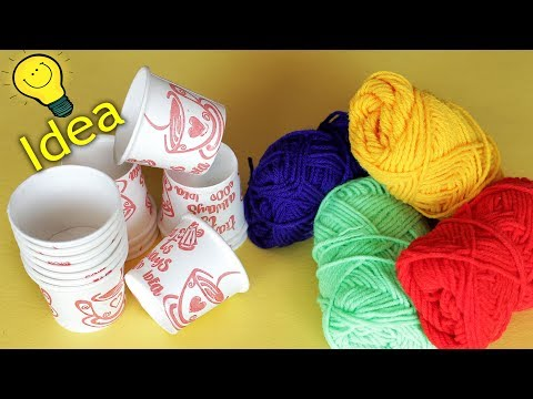 Best out Waste Idea 2018 || How to make flower vase using Tea Cup 2018
