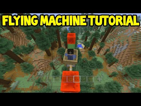 Minecraft (Xbox360/PS3) - TU31 Slime Flying Machine! - Easy Tutorial