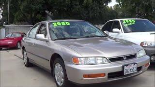 1996 Honda Accord Walkaround 2.2 L 4-Cylinder