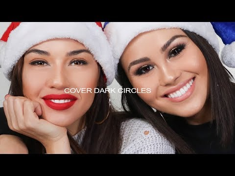 How To Cover Dark Circles Under Eyes with Eman and  Roxette Arisa