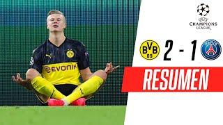 Borussia Dortmund - PSG [2-1] | GOLES | Octavos de final (Ida) | UEFA Champions League