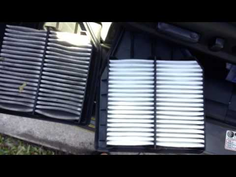 2008-2012 Honda Accord Engine And Cabin Air Filter Change