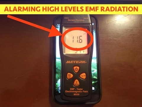 Picked up EMF Detector Today - Been Beeping Off & On Since i got it - This is Scary!