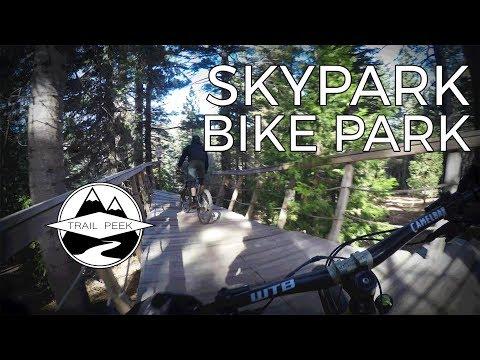 Rad New Bike Park! - Skypark Bike Park - Mountain Biking Santas Village Skypark Bike Park