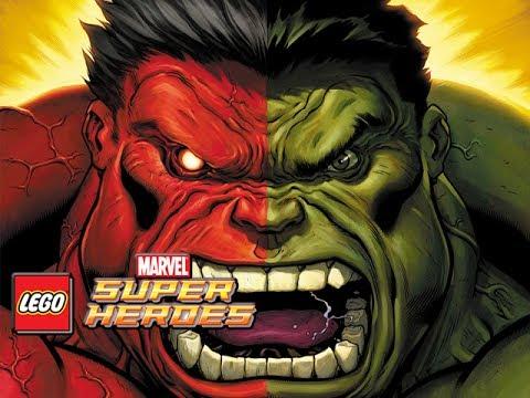 LEGO Marvel Superheroes - Red Hulk Unlocked & Gameplay (HD)