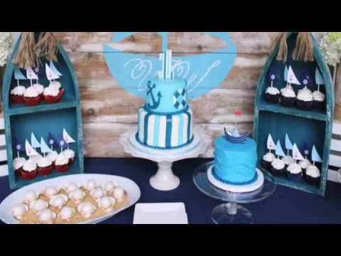 Diy Nautical Birthday Decor