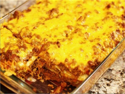 Simple Mexican-Style Casserole: Made with Jiffy Corn Muffin Mix!