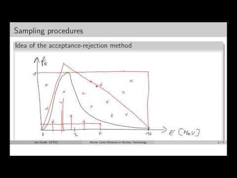 MC simulations:  2.3 Acceptance rejection