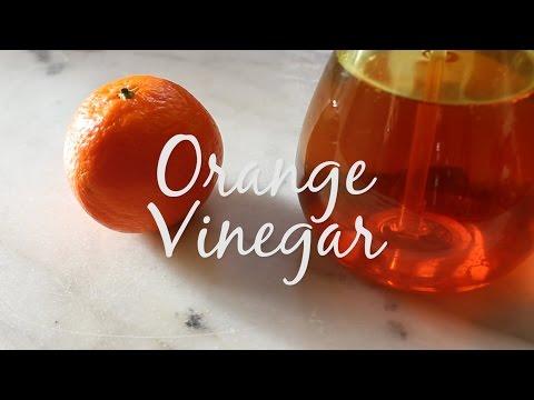 Orange Peel Vinegar Cleaner - Vinaigre Orange Nettoyant