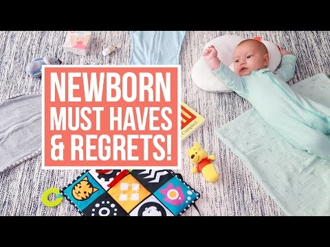 Newborn Essentials + Products I REGRET Buying!