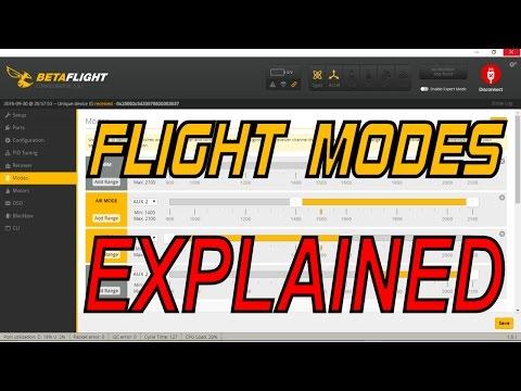 Quad Drone Flight Modes and Beginner Set Up