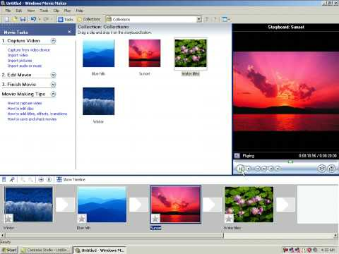 How to convert your pictures into video