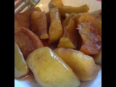 Cinnamon Apples (Microwave)