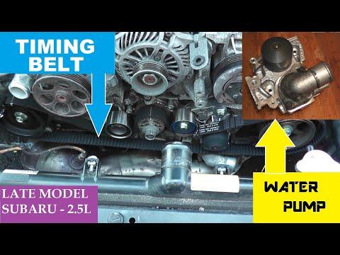 Subaru Timing Belt | Water Pump | Thermostat Replacement