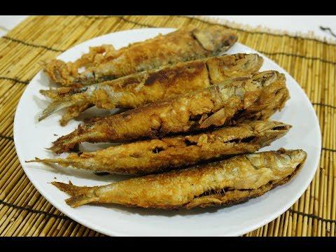 🇵🇭🐟 Simple Crispy Fried Sardines - Tagalog Pinoy - How to cook Sardines