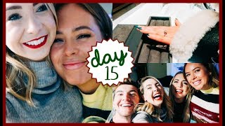 ACCIDENTAL RING SHOPPING & PARTY TIME | VLOGMAS