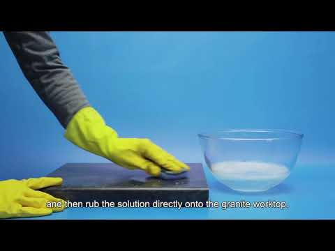 How to clean granite countertops and worktops