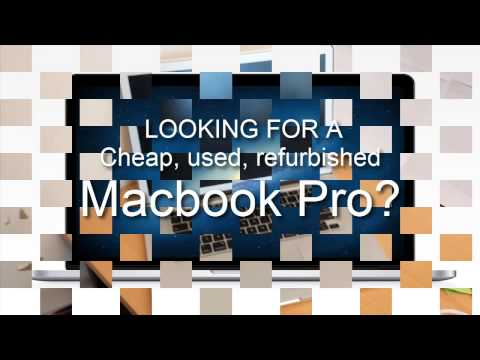 Looking For Cheap, Used, Refurbished Macbook Pro? You Must See This Video Than