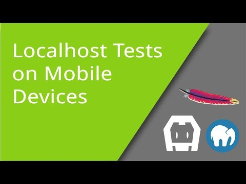 Localhost Webpages on Mobile Devices