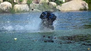 Rc Hydroplaning! Insane Traxxas Rc Tuck Walks On Water!