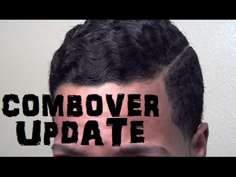 Combover Haircut and Products Update #2