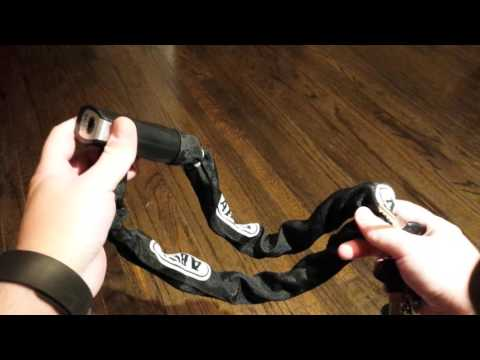 (12) Abus Steel-O-Chain 880 raked