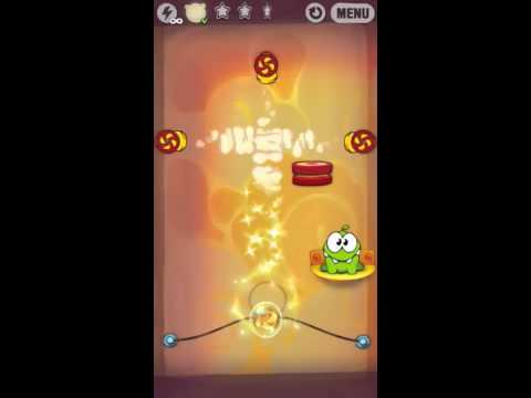 Cut The Rope - Steam Box Level 1-25 - 3 STARS - hints