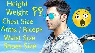 Download Motivational By ″Varun Dhawan″ - Body Measurements Of #Varun Dhawan Video