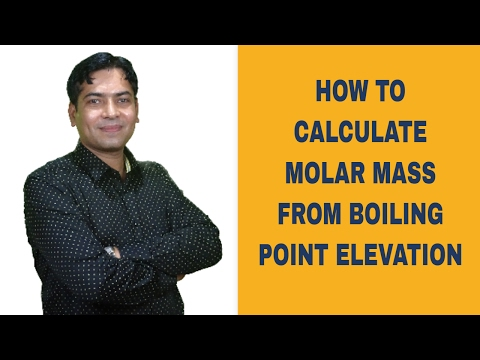 Calculating The Molar Mass of The Unknown Compound From Boiling Point Elevation