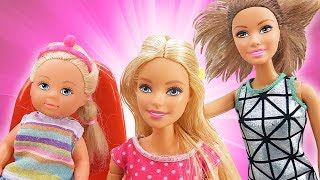 Download Видео про игрушки. Кукла Барби и Штеффи в салоне красоты Video