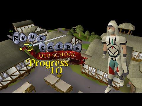 Oldschool RuneScape: Combat 3 - Progress #10: Shilo Village & 90 Agility