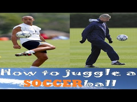 How to juggle a soccer ball tutorial. Learn it in one day guaranteed kappa! 2017