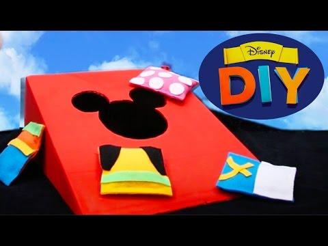 Mickey Mouse Bean Bag Toss | Disney DIY