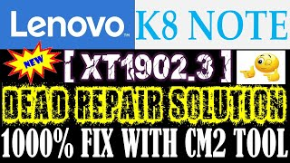 2:59) Lenovo K8 Note Dead Boot Repair Video - PlayKindle org