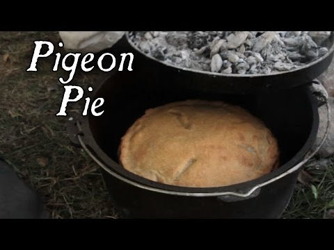 Dutch Oven Baking - Meat Pies