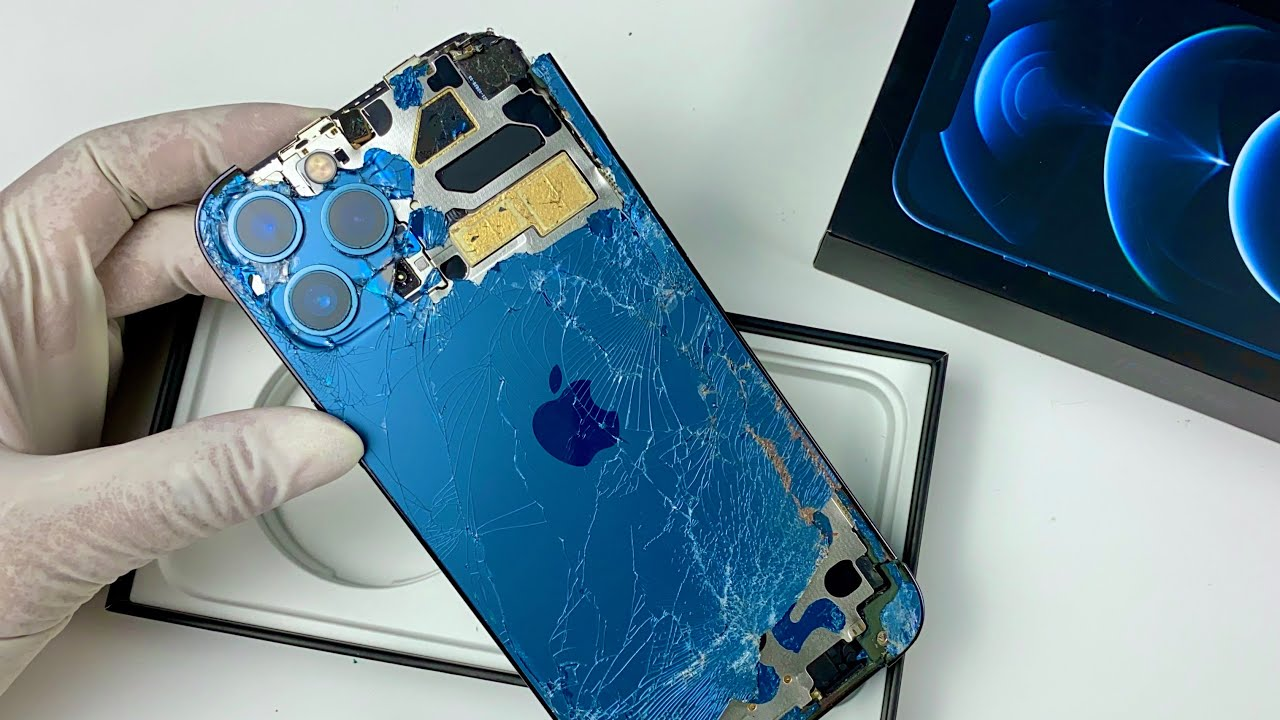 iPhone 12 Pro Max Restoration...ASMR Repair