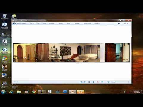 Easily Create Panorama Images Using Windows Live Photo Gallery