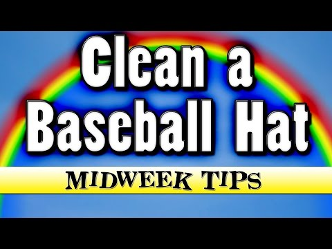 How To Clean a Baseball Hat