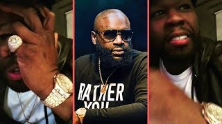 50 Cent Speaks On People Saying He Went Too Far Dissing Rick Ross With Rocky Meme While Hospitalized