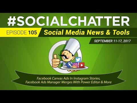 Social Media Marketing Talk Show 105 - Facebook Canvas Ads in Instagram Stories & WhatsApp Ads