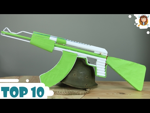 How to make Paper Guns - Car - (Top 10 2016)