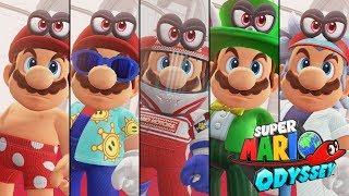 Super Mario Odyssey DLC - Hint Art #6 (Luncheon Kingdom) - G