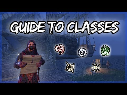 Basics of CLASSES of Elder Scrolls Online (ESO Guide)