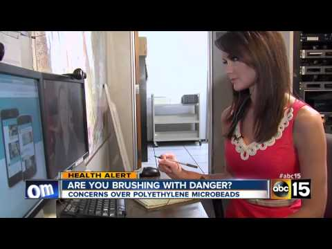 ABC 15 Arizona Featuring Dr. J. Philipp Talking About Microbeads in Toothpaste