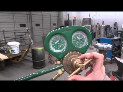 Oxy-Acetylene Start Up and Shut Down
