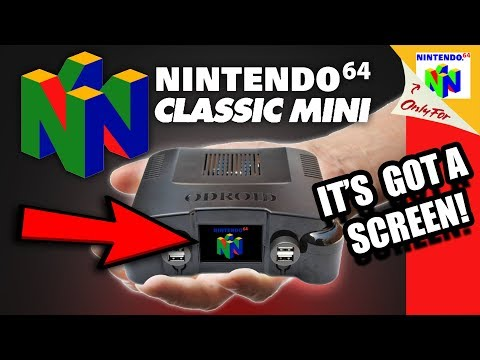 Nintendo 64 Mini is the OGST Gaming Console! [NOT OFFICIAL!]