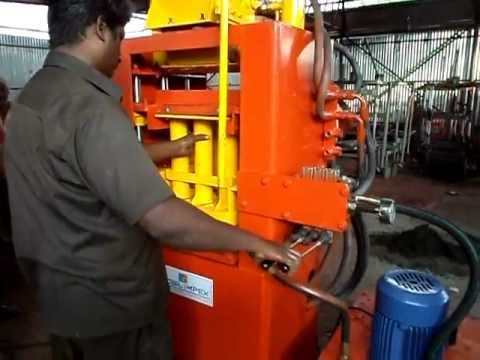 Paver Inter lock Machines