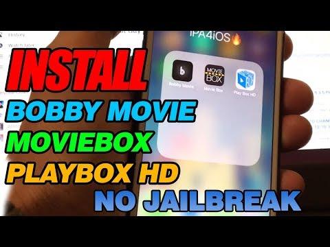 Get Movie Box, PlayBox HD, , & Bobby Movie iOS 10/11 - NO JAILBREAK (iPhone, iPad) 2017!